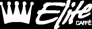 Logo Elite Caffè Orizzontale White