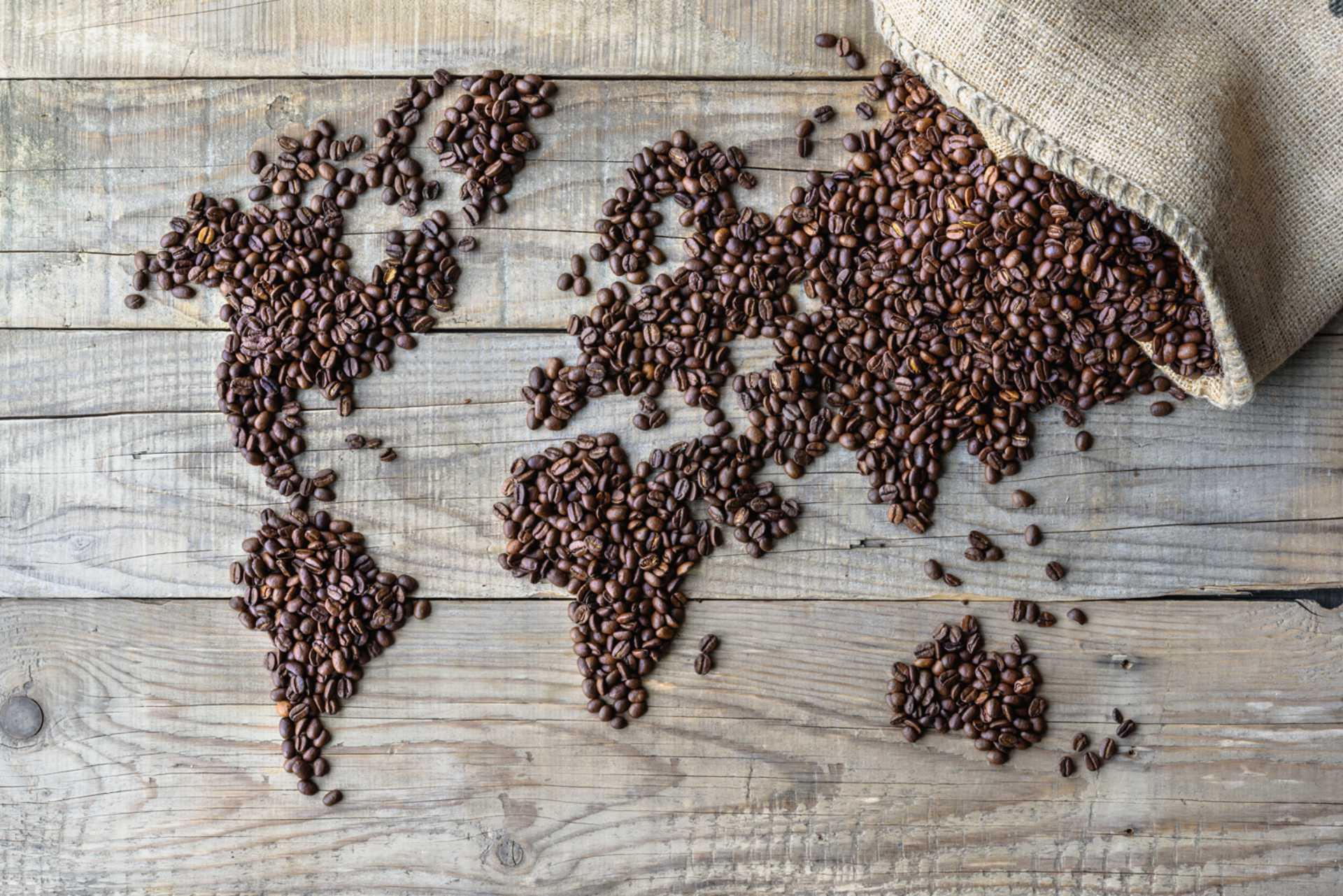 Sfondo Caffe in una Tazzina